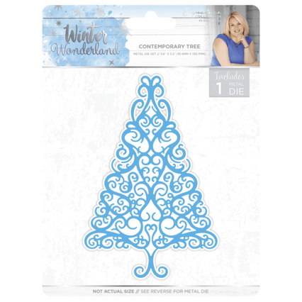Crafters Companion Sara Signature Winter Wonderland Contemporary Tree