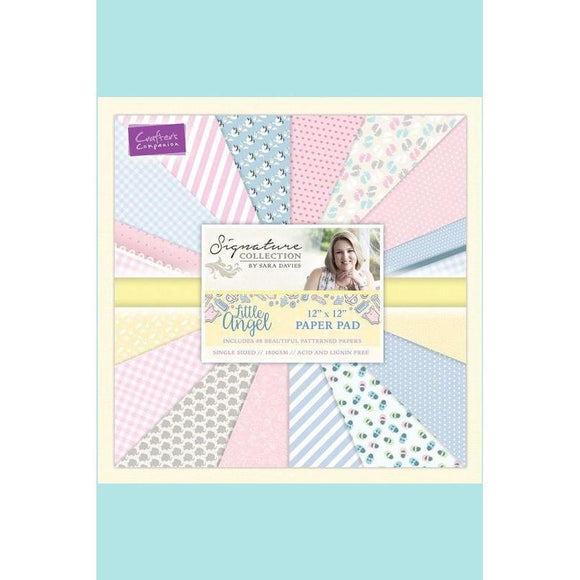 Crafters Companion Sara Signature Little Angel - 12 x 12 Paper Pad
