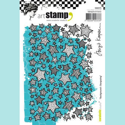 Cling Stamp A6 : Background : Stargazing by Birgit Koopsen