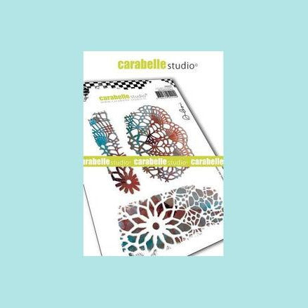 Carabelle Studio - Cling Stamp A6 : Crochets textures by Alexi
