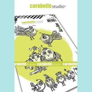 Carabelle Studio - Cling Stamp A6: Zoziaux Rigolos by Azoline
