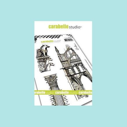 Carabelle Studio - Cling Stamp A6: Gargouille et Architecture Gothique by Alexi
