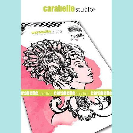 Carabelle Studio - Cling Stamp A6: Alexandria by Jennifer