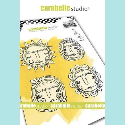 Carabelle Studio - Cling Stamp A6 : Art Dolls by Kate Crane