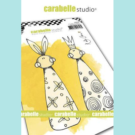 Carabelle Studio - Cling Stamp A6 : Skittles by Kate Crane