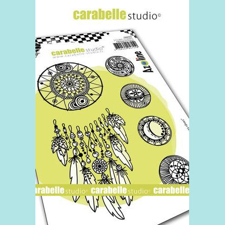 Carabelle Studio - Cling Stamp A6 : Catching your dreams by Azoline