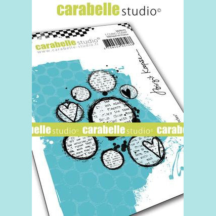 Carabelle Studio - Cling Stamp A7 : Lovely circles by Birgit Koopsen