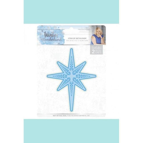 Crafters Companion Sara Signature Winter Wonderland Star of Bethlehem