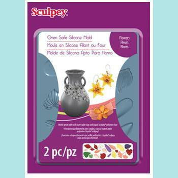 Sculpey® - Sculpey® Silicone Bakeable Mold – Flowers