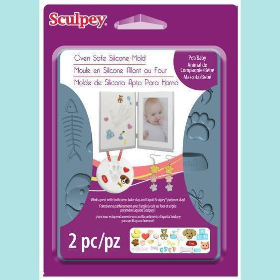 Sculpey® - Sculpey® Silicone Bakeable Mold – Pet / Baby