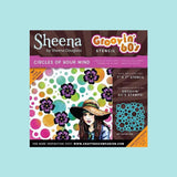 Crafters Companion - Sheena's Douglass Groovin' 60's Stencils