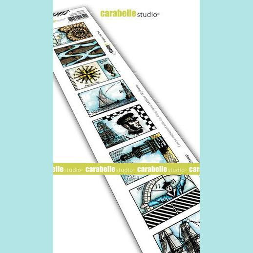 Carabelle Studio - Cling Stamp Edge: 8 labels: The Sea