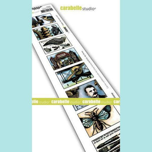 Carabelle Studio - Cling Stamp Edge: 8 labels: Once Upon a Time
