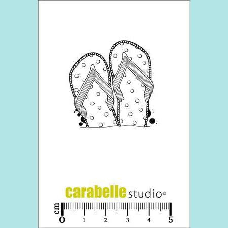Carabelle Studio - Cling Stamp Small: Tongs