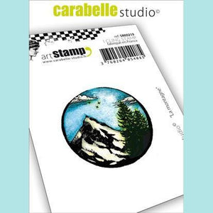 Carabelle Studio - Cling Stamp Small : La montagne