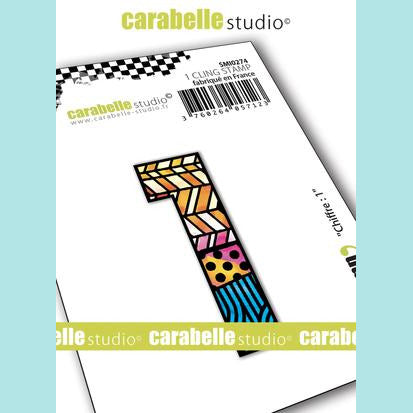 Carabelle Studio - Cling Stamp Small : Numbers 1