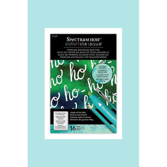 Crafters Companion Spectrum Colorista Aqua 4x6