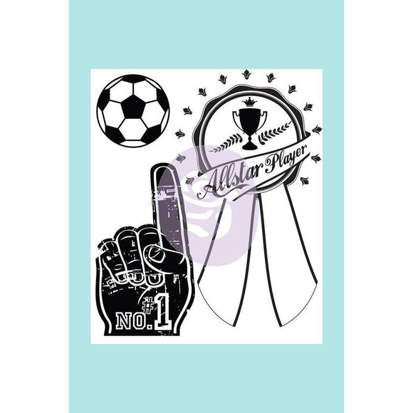 Prima Marketing - Athletic Achievement Clear Acrylic Stamp Set 1