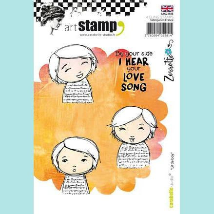 Carabelle Studio - Cling Stamp A6 : Little boy