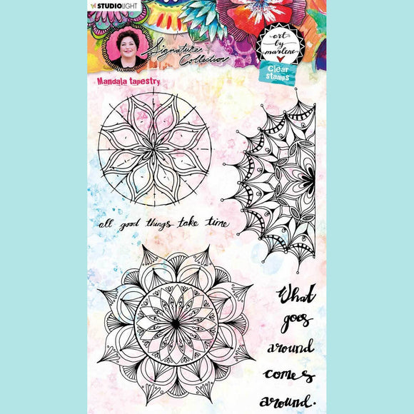Art by Marlene - Signature Collection 5.0 - Clear Stamp Set # 48