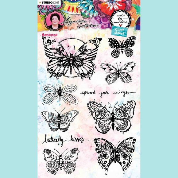 Art by Marlene - Signature Collection 5.0 - Clear Stamp Set # 49