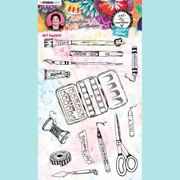Art by Marlene - Signature Collection 5.0 - Clear Stamp Set # 51