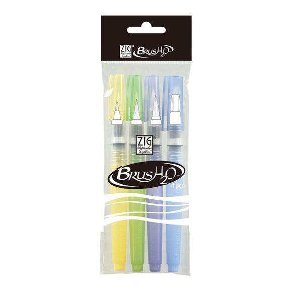 ZIG Watercolor System - BrusH2O - 4 pc