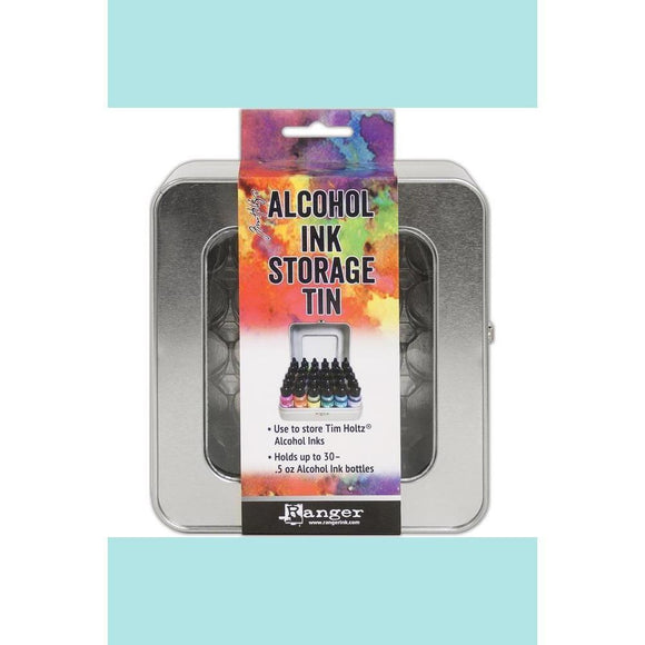 Tim Holtz Tin Storage - Alcohol Ink