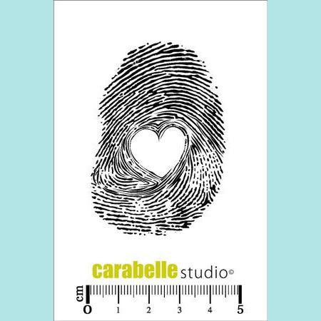 Carabelle Studio - Cling Stamp Small: Empreinte Coeur