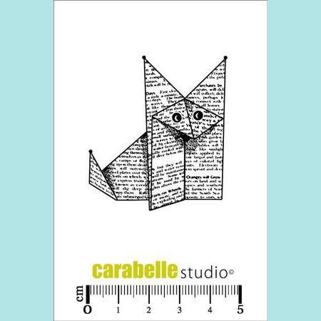 Carabelle Studio - Cling Stamp Small: Renard Origami