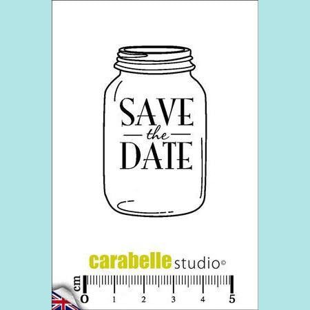 Carabelle Studio - Cling Stamp Small: Save the date