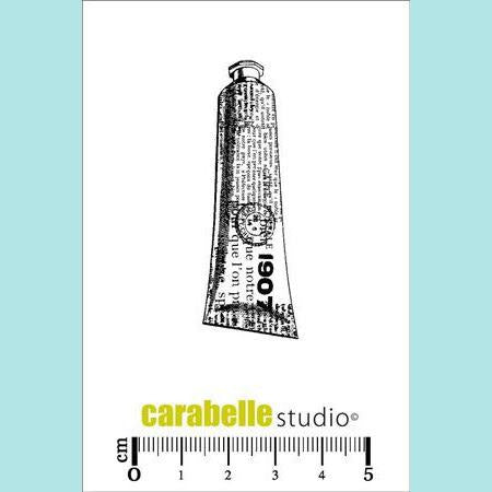 Carabelle Studio - Cling Stamp Small :  Tube de peinture