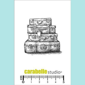 Carabelle Studio - Cling Stamp Small: Valises