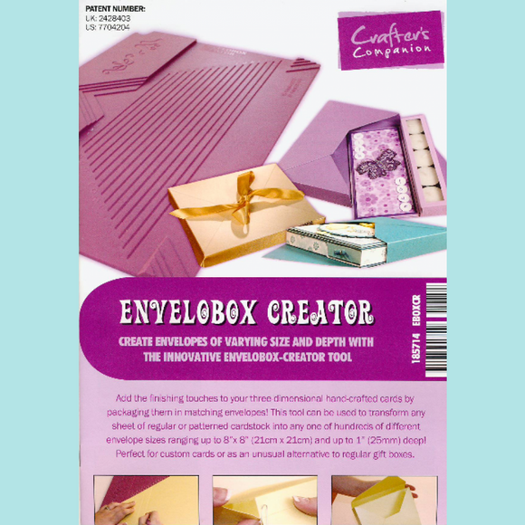 Crafter's Companion Envelobox Creator
