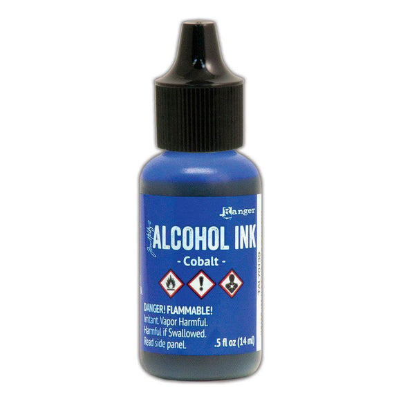 Tim Holtz - New Alcohol Ink Colours COBALT