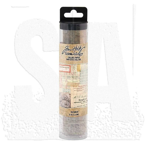 Stampers Anonymous - Tim Holtz Idea-ology: Document Collage Paper