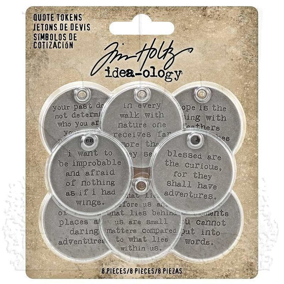 Tim Holtz Idea-ology: Quote Tokens