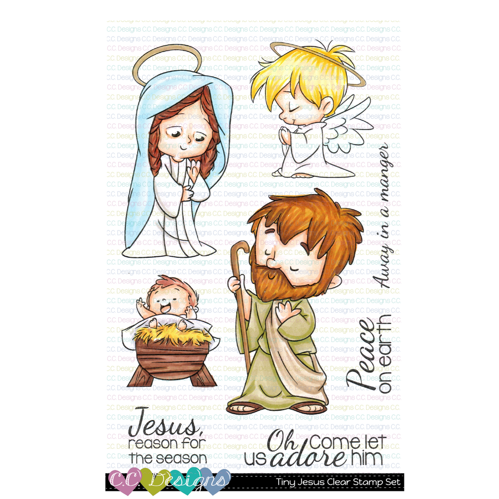 C.C. Designs - Tiny Jesus Clear Stamp Set
