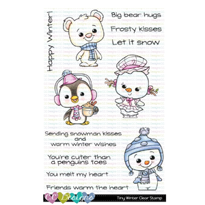 C.C. Designs - Tiny Winter Stamp and Die