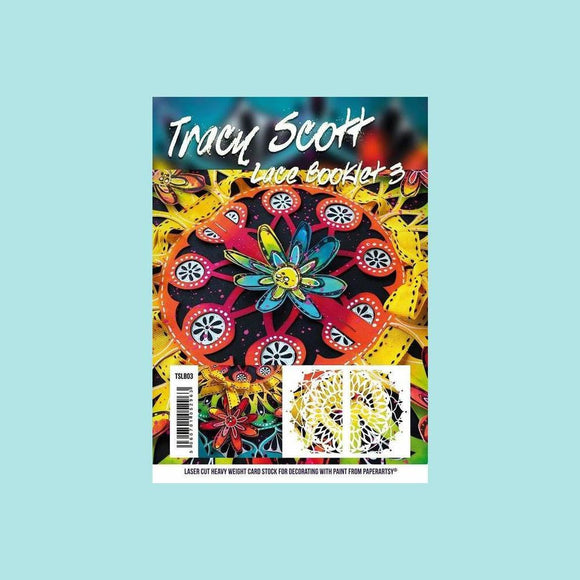 PaperArtsy - Tracy Scott Lace Booklet 3