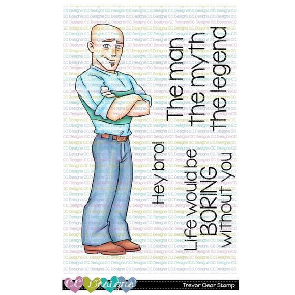 C.C. Designs -  Trevor Clear Stamp Set