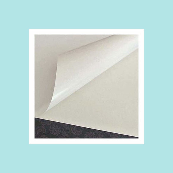Poppy Crafts A4 Sticky Double-Sided Paper - 5 Pack - POPPYCRAFTS-A4STICKY5PC