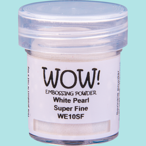 WOW! Embossing Powder - WE10 White Pearl Super Fine