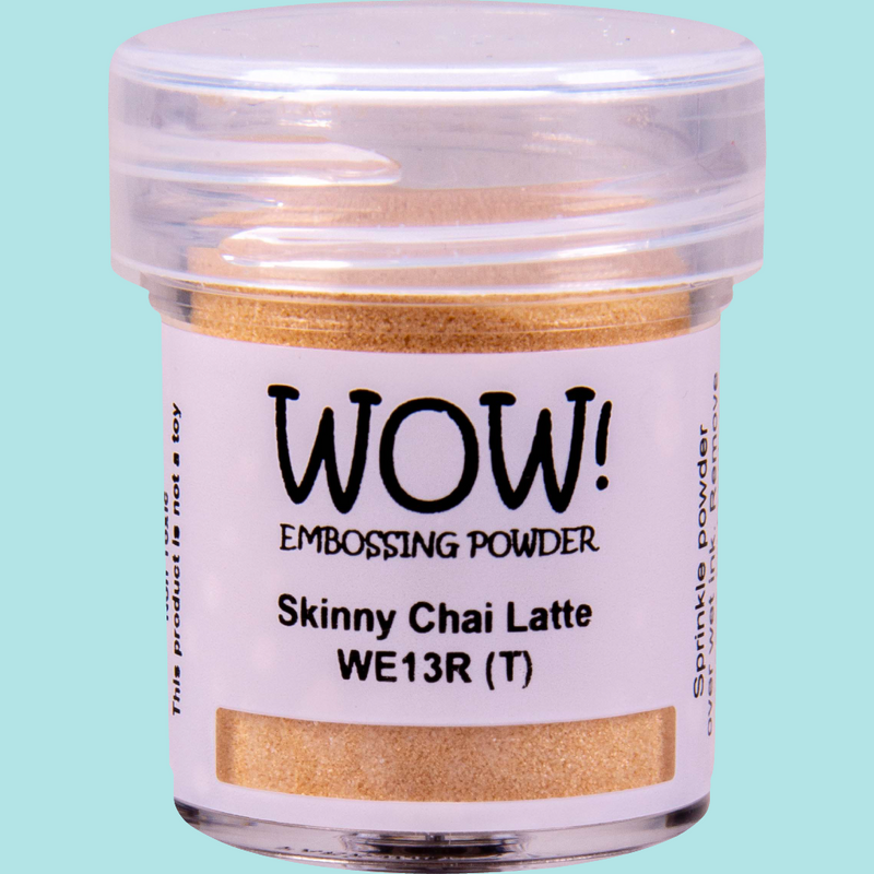 WOW! Embossing Powder - WE13 Skinny Chai Latte Regular