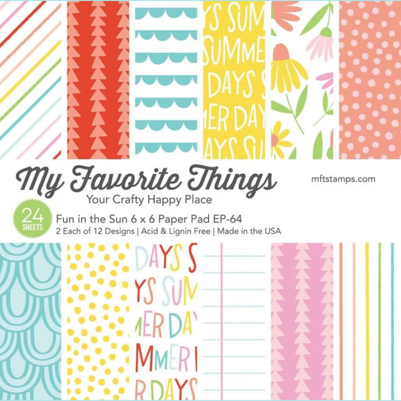My Favorite Things - Fun in the Sun Paper Pad