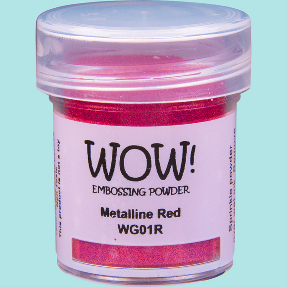WOW! Embossing Powder - WG01 Mettaline Red Regular