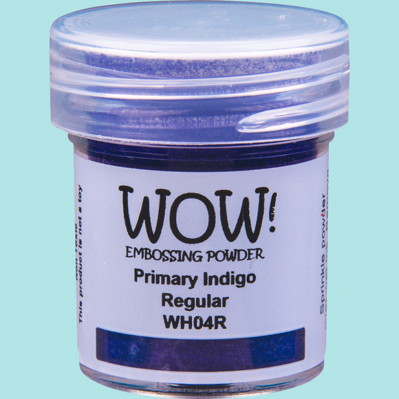 WOW! Embossing Powder - WH04 Primary Indigo Regular