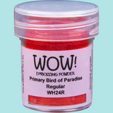 WOW! Embossing Powder - WH24 Primary Bird of Paradise Regular