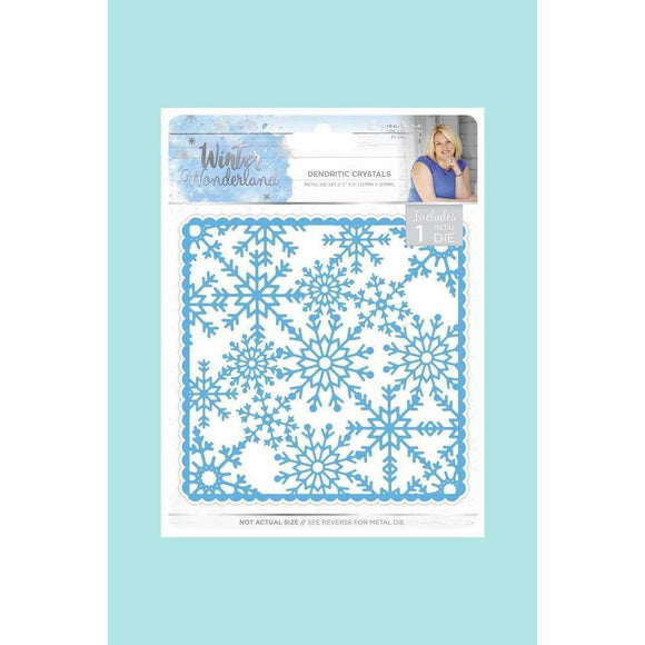 Crafters Companion Sara Signature Winter Wonderland Dendritic Crystals