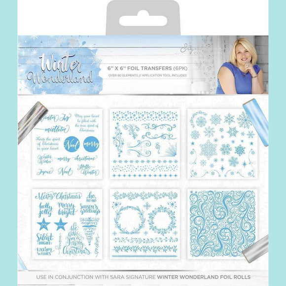 Crafter's Companion - Sara Signature Winter Wonderland - Foil Transfers